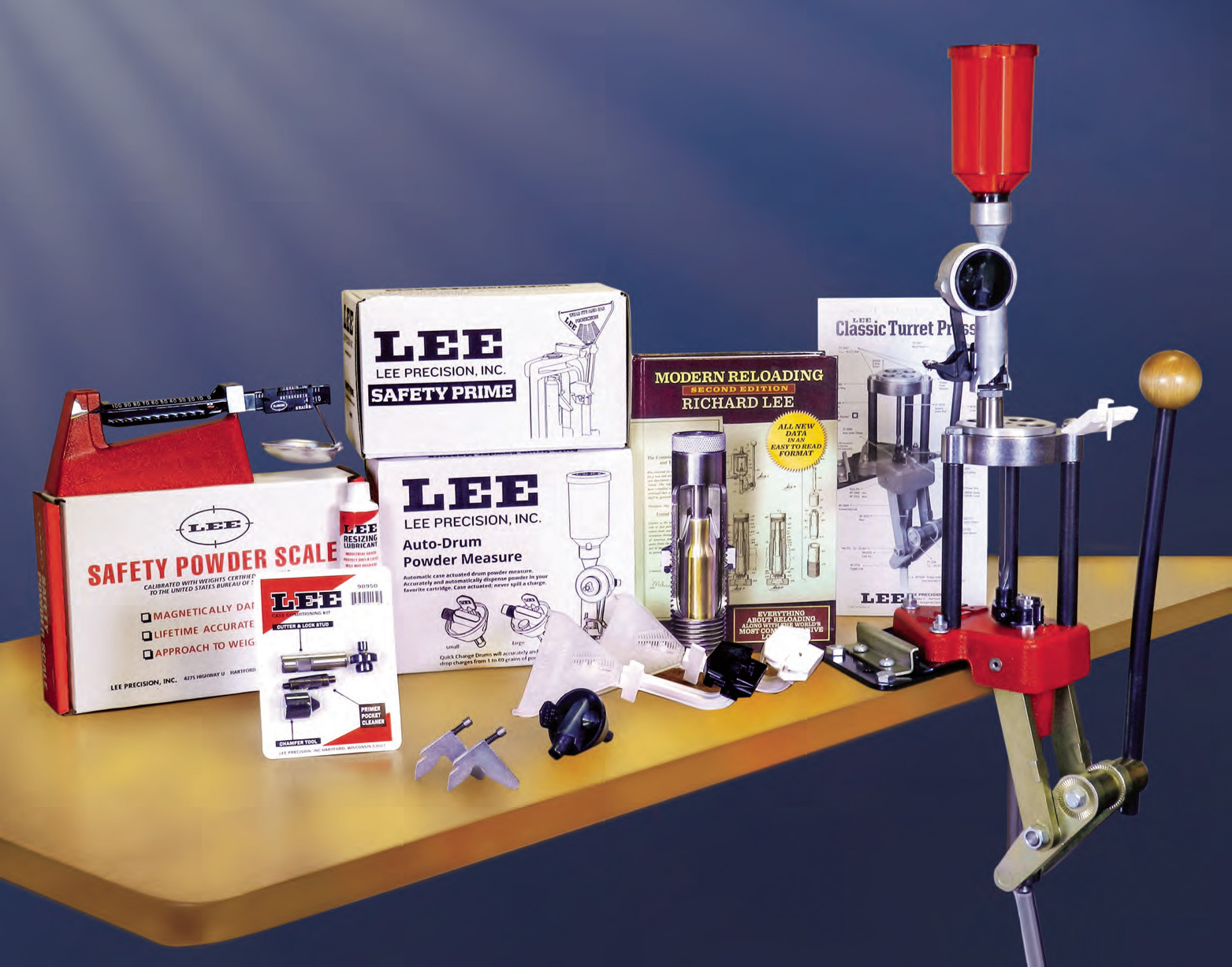 Lee Classic Turret Press Kit