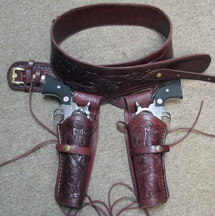 Double Drop Holster Rig