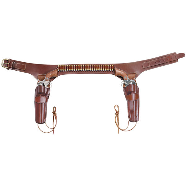Triple K Conquistador Double Drop Belt