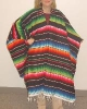 Mexican Style Woven Poncho