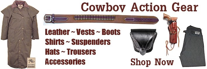 Shop Cowboy Action Gear